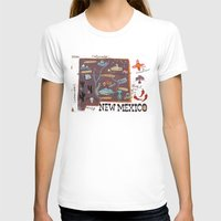 mexico T-shirts featuring New Mexico by Christiane Engel
