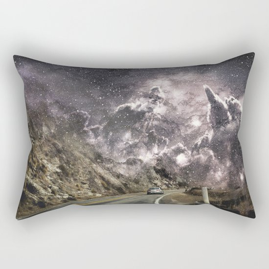 Space gazing Highway One Rectangular Pillow