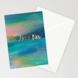 Be Here Now, Ocean Sunrise 4 Stationery Cards