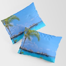 Tropical Island Pillow Sham