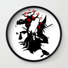 He's In Your Head, Bats! Wall Clock