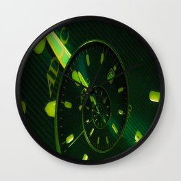 droste time Wall Clock