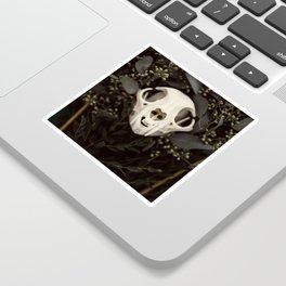 Skull and Bone Sticker