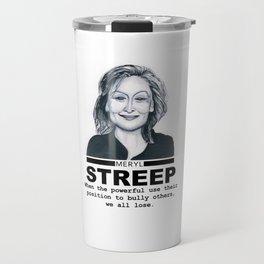 Meryl Streep Travel Mug
