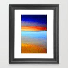 Painted Dawn Framed Art Print