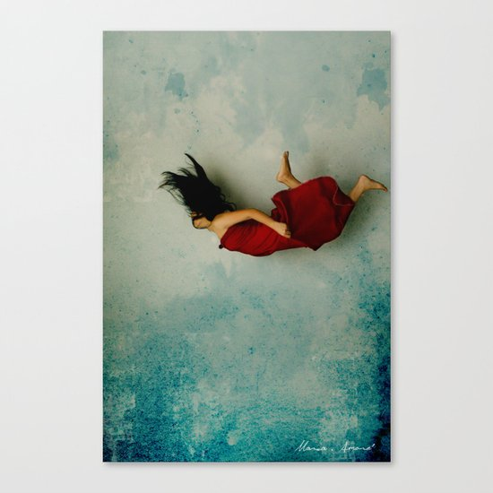 Endless River Canvas Print