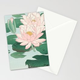 WATER LILY - OHARA KOSON Stationery Cards