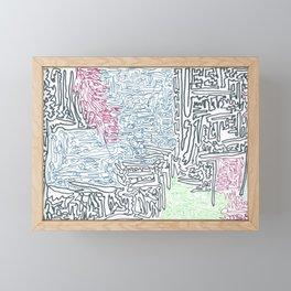 dissociation Framed Mini Art Print