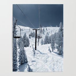 Mammoth Mountain: Chair 12 Poster