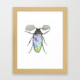 galaxy beetle Framed Art Print