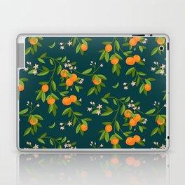 Citrus Tree - Navy Laptop & iPad Skin