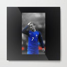 Antoine Footballer Metal Print