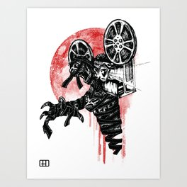 A Film By The Mummy Art Print