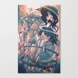 gemini cocoon Canvas Print