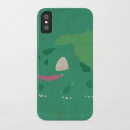 Bulbasaur iPhone Case