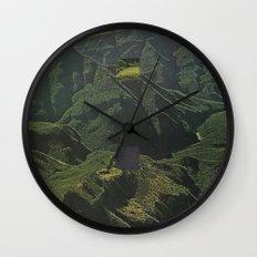 Empty Wall Clock