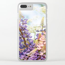 Summer Meadow Bouquet #decor #society6 #homedecor Clear iPhone Case