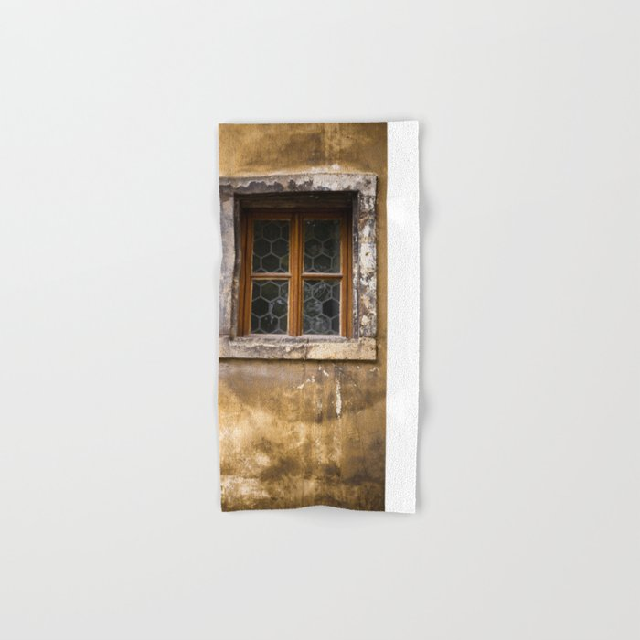 Mysterious Window II Hand & Bath Towel