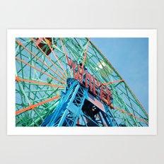 The Wonder Wheel Art Print