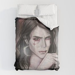 Son of the moon Gothic portrait Comforters
