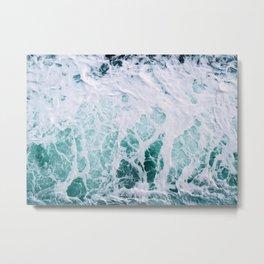 Ocean Splash III Metal Print