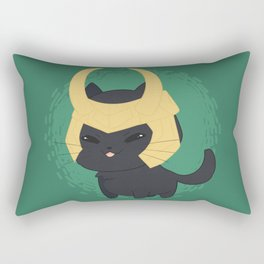 Loki Cat Rectangular Pillow