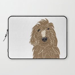 A doodle of a Golden Doodle Laptop Sleeve