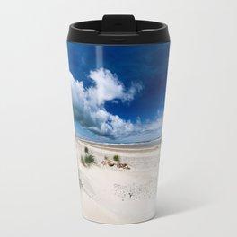 Grenen Beach Panorama Travel Mug