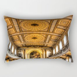 Navy Chapel Greenwich Rectangular Pillow