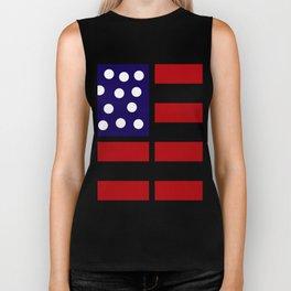 American design! USA flag #society6 #decor #buyart #artprint Biker Tank