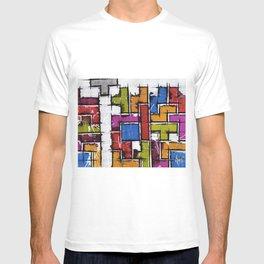 Life as Tetris T-shirt