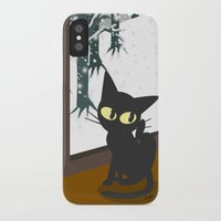 snow iPhone & iPod Cases featuring Snow by BATKEI