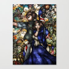 Put Your Faith In Her Canvas Print