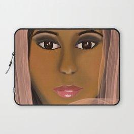 Mysterious Girl Laptop Sleeve