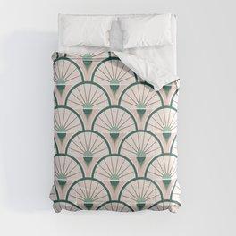 Art Deco Fan Comforters