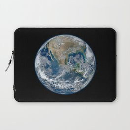 Planet Earth from Above Laptop Sleeve
