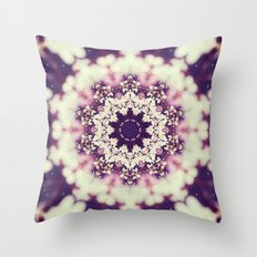 Abraham Vehicle Mandala Throw Pillow