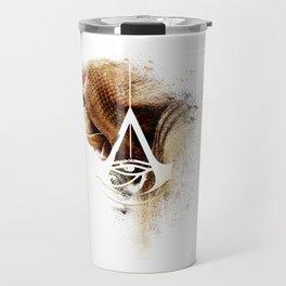 Assassins Creed Bayek Sands Print Travel Mug