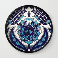 moroccan Wall Clocks featuring Moroccan by Faith Dunbar