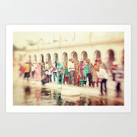 india Art Prints featuring India by Marianna Di Ferdinando