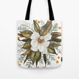 Magnolia Bouquet Tote Bag