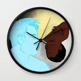 watching over you ii Wall Clock