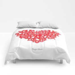 Roger Ebert Quote Comforters