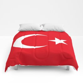 Flag of Turkey, High Quality Comforters