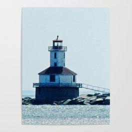 Summerside Harbour Lighthouse PEI Poster
