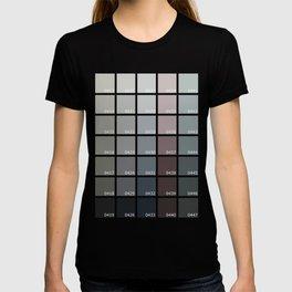 Shades of Grey Pantone T-shirt