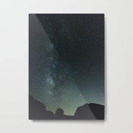 Blue Night Sky, Valley of Fire NV Metal Print