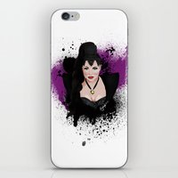 evil queen iPhone & iPod Skins featuring An Evil Queen by Regally Evil