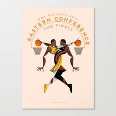 NBA PLAYOFFS 2014 - EASTERN CONFERENCE FINALS Canvas Print