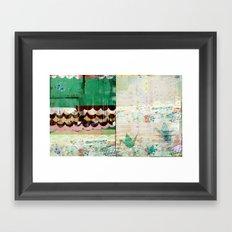 Paper Crane City Framed Art Print